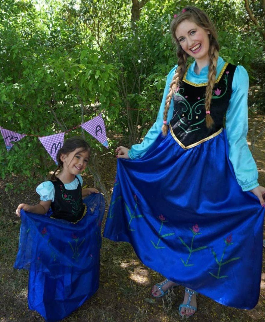animadora infantil cumpleaños princesas barcelona