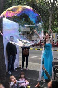 burbujas gigantes barcelona