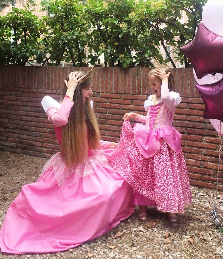 Animaciones princesas barcelona